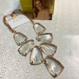 New Kendra Scott Harlow Necklace in Rose Gold